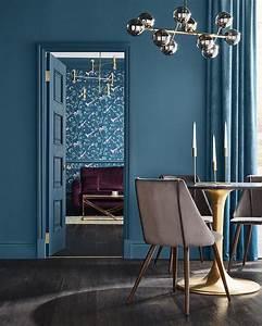 Papier Peint Bleu Canard : papier peint de l 39 ann e 2019 blog d co clem around the ~ Farleysfitness.com Idées de Décoration
