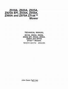John Deere Z910a