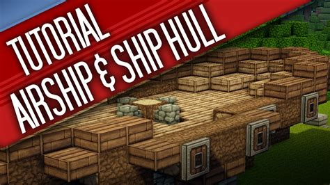 Minecraft Boat Hull by Minecraft Airship Ship Hull Tutorial