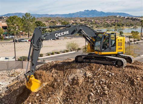 john deere updates   lc excavators  engine hydraulic improvements