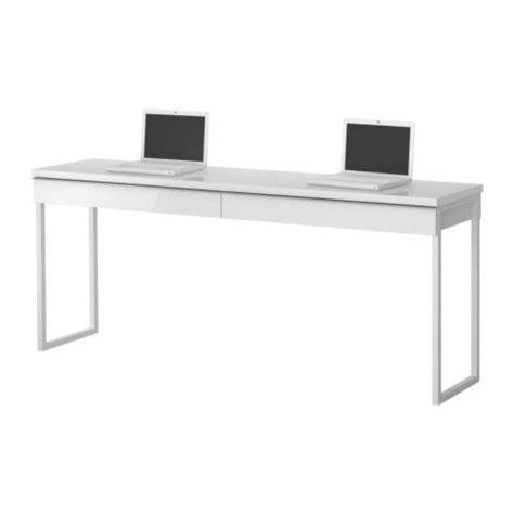 bureau deux personnes bestå burs bureau ikea grâce au plateau de table