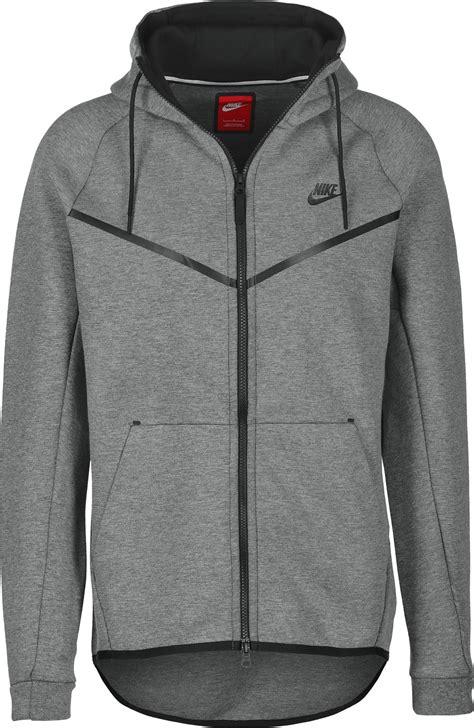 nike tech fleece windbreaker grey heather