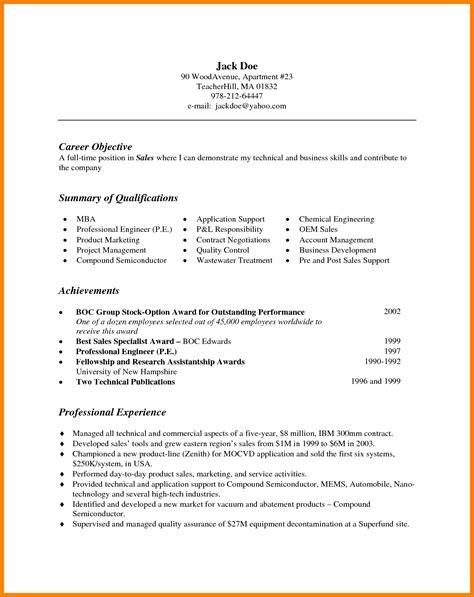 6 bullet points for resumes letter adress