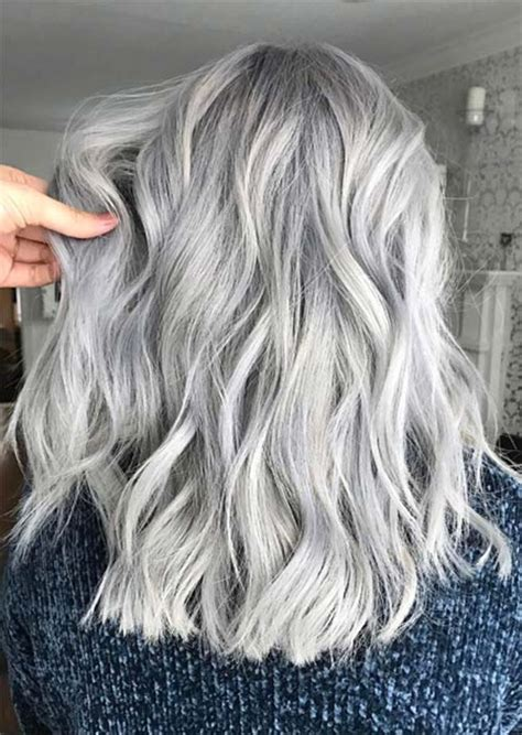 color gray hair silver hair trend 51 cool grey hair colors tips for