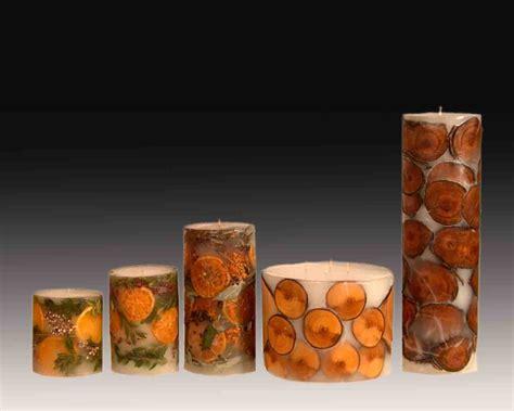 Candele Fatte A Mano by Candele Fatte A Mano In Pieno Di Frutta Legno Fiori