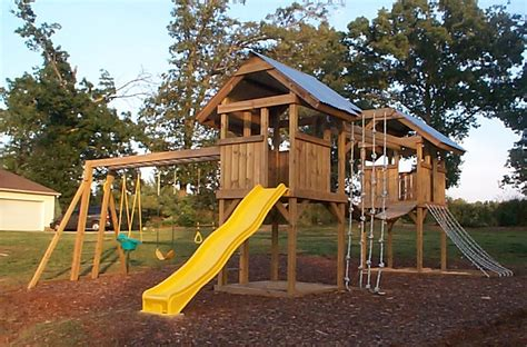Aesthetic Diy Backyard Playground Plans  Design Idea And