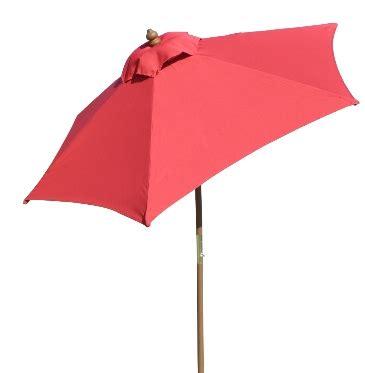 wooden wood umbrella 49 95 6 5 tilt canopy
