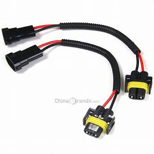 Dropshipping For 2pcs H8 H9 H11 Extension Adapter Wiring