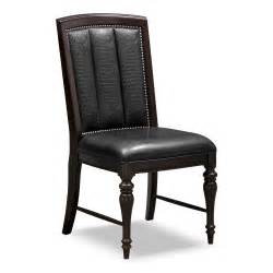 esquire table and 6 chairs cherry value city furniture