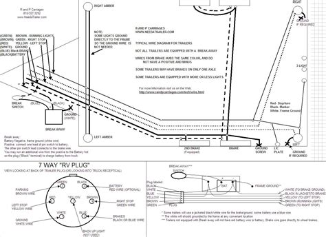 Auxilary Light Wiring Diagram Vehicle by H H Trailer Wiring Diagram Trailer Wiring Diagram