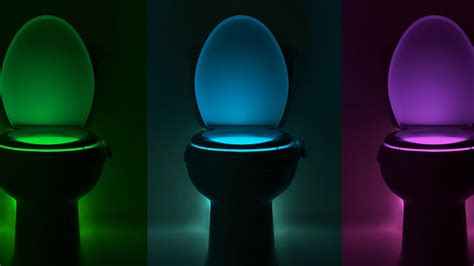 glow   bathroom   bowl cleaning led neon