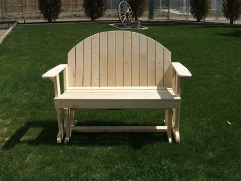 images  glider bench plans  pinterest