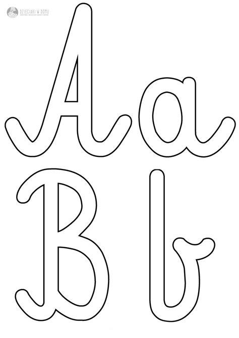 szablony liter  szorstkich literek dzieciaki  domu