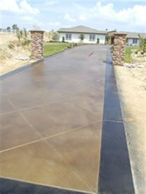 1000 ideas about stained concrete driveway on