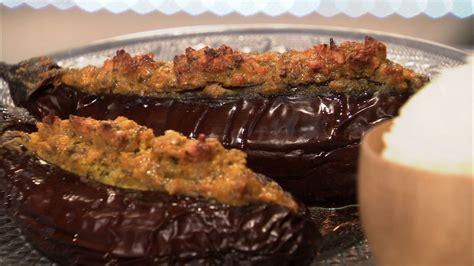 aubergine farcie  lindienne petits plats en equilibre