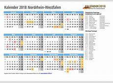 Kalender 2018 NRW zum Ausdrucken « KALENDER 2018