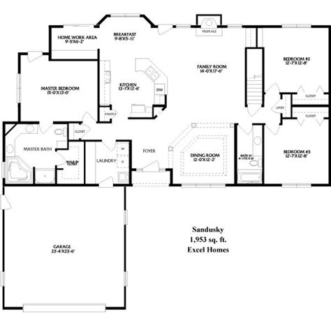 ideas  ranch floor plans  pinterest ranch