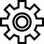 Zahnrad Symbol Icon Kostenlos Cogwheel Icons Svg