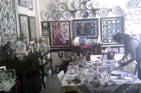 turkish tiles workshop  istanbul turkish ceramics