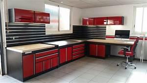 Amenagement Garage Atelier : espace rouge dordogne trm garage rangement garage ~ Melissatoandfro.com Idées de Décoration