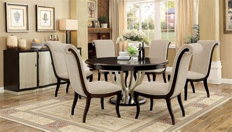 furniture of america ornette dining set