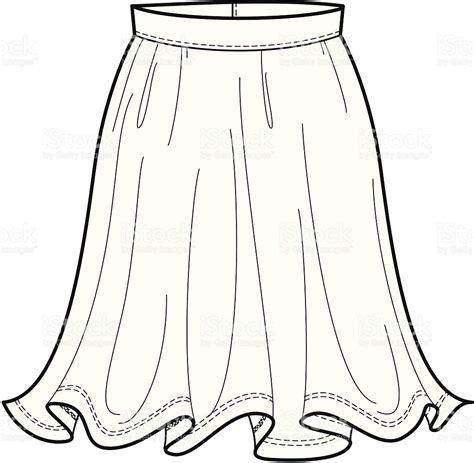 skirt clipart black and white skirt clipart black and white fashion illustration of a