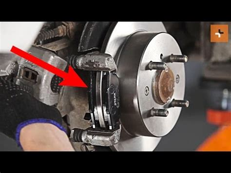 change  rear brake discs  rear brake pads