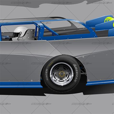 Dirt Template Xr1 Rocket Chassis Dirt Late Model Template School Of
