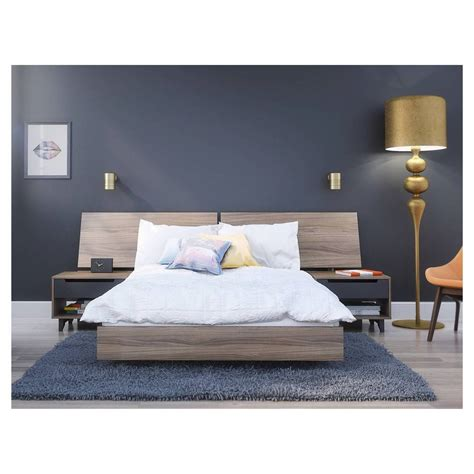 complete bedroom sets 4 piece alibi full size bedroom set nexera ebay 11183 | s l1000