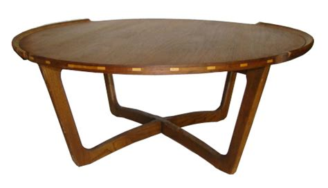 Great savings & free delivery / collection on many items. Large 1950's Mid Century Modern Round Teak Wood Coffee Table | Modernism