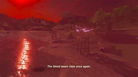 breath wild zelda legend moon blood walkthrough hxchector fight monster