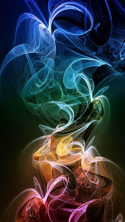 Wallpapers Neon Smoke Mobile Phone 1080 Htc