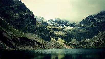 Dark Mountain Nature 1440 Serene 2560 Wallpapers