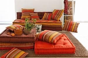 matelas marocain recherche google pour la maison With tapis oriental avec jetée de canapé maison du monde