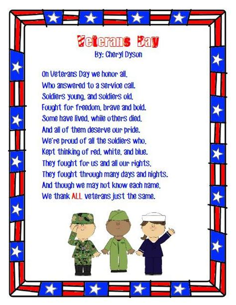 20 best quot veterans day poems quot thank you prayers for our heroes