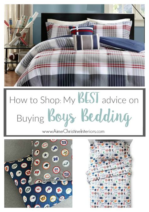 how to shop my best advice for buying boys bedding