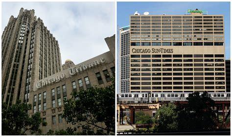 chicago tribune owner seeks to buy sun times chicago tribune
