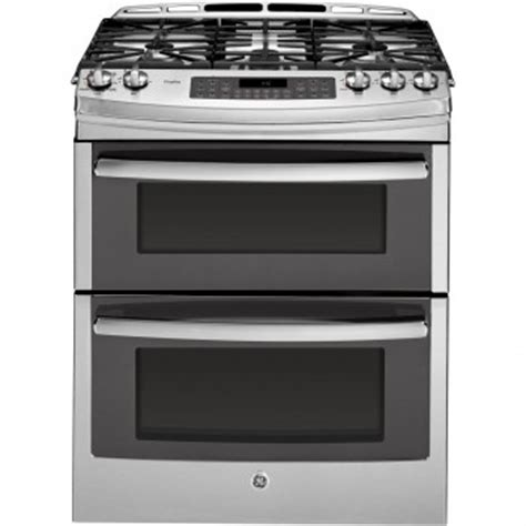 pgssefss ge profile series    front control double oven gas range