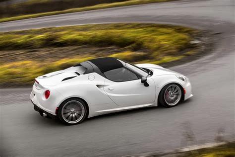Alfa Romeo 4c Price by Alfa Romeo 4c Spider Price Announced For The Us Market