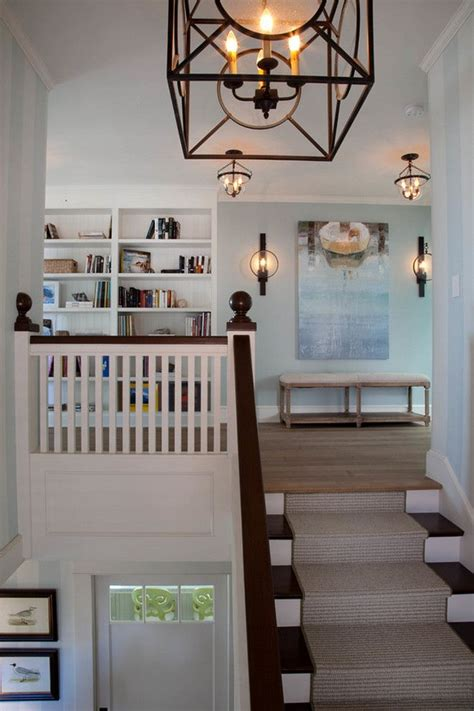 Ideas For Upstairs Landing by Coastal Home Ideas This Landing Features