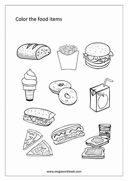Coloring Sheets Pages Worksheets Printable Words Sheet
