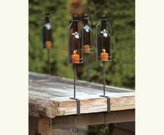 Italian Big Bottle Wine Hurricanes Candle Holder by 57 Best Wine Bottle Glass Projects Images In 2013