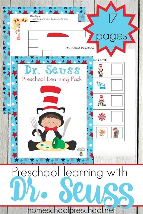 Free Dr Seuss Preschool Printables  Free Homeschool Deals