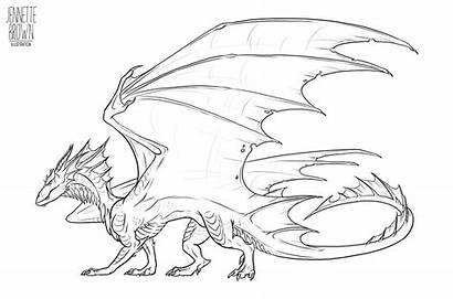 Deviantart Dragon Lineart Template Sugarpoultry Outline Drawings