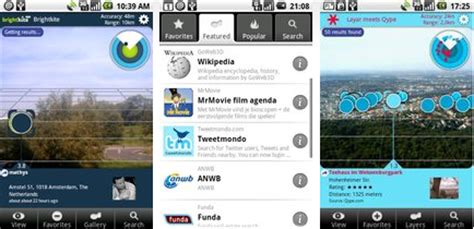 reality apps android wikitude and layar augmented reality apps for android