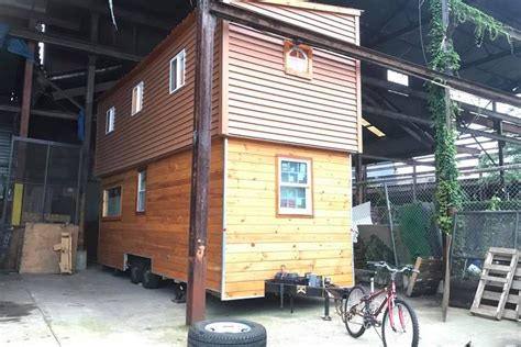 Tiny House Lives Large With Extendable Roof  Curbed
