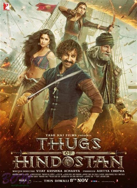 Thugs Of Hindostan Movie Poster  Pics Bollywood Actor Movie