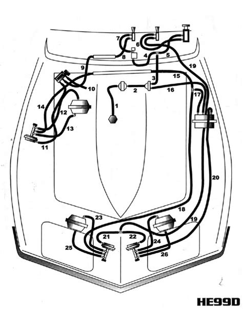 Corvette Vacuum Systems Guide - Headlight And Windshield