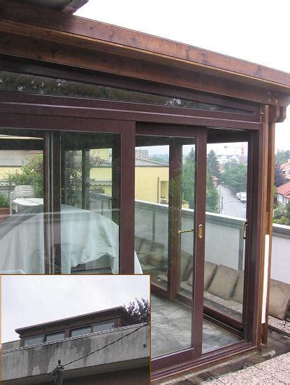 veranda chiusa la tartaruga pergolati addossati in legno la tartaruga