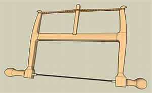 Bow saw, turning saw, or frame saw